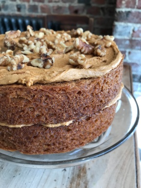 Coffee and Walnut. Vegan and Gluten Free. Serves around 8. £26.50